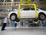 Старт серийного производства автомобилей Aurus Senat
