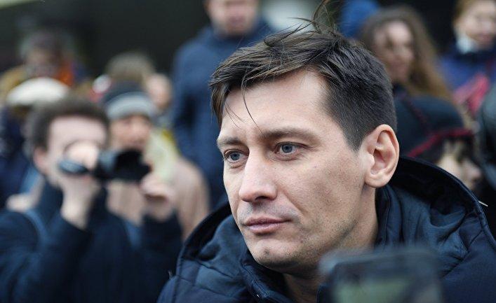 Бывший депутат Государственный думы Дмитрий Гудков