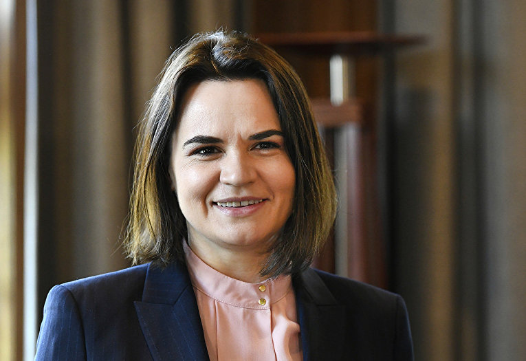 Белорусский политик Светлана Тихановская