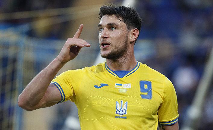 Международный товарищеский матч. Украина - Кипр