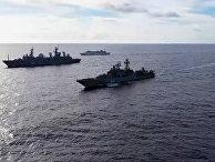 Тактическая группа надводных боевых кораблей Тихоокеанского флота