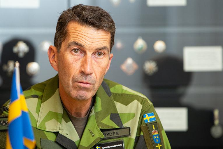 Главнокомандующий вооруженными силами Швеции Микаэль Бюден