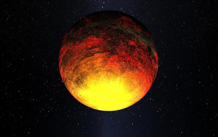 Экзопланета Kepler-10b