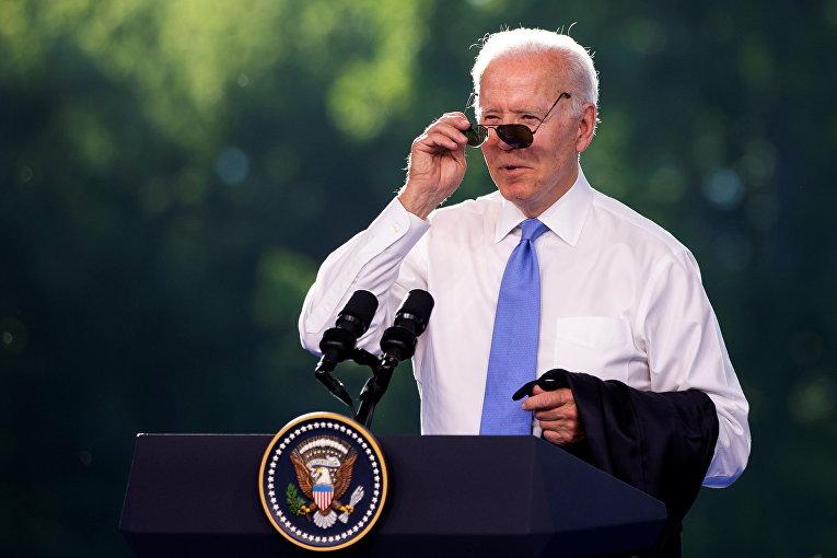 16 июня 2021. Пресс-конференция президента США Джо Байдена после встречи с Владимиром Путиным