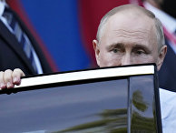 Владимир Путин после встречи с Джо Байденом в Женеве, Швейцария