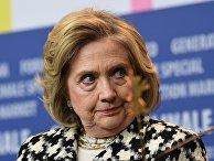 """Берлинский кинофестиваль 2020. Бывший государственный секретарь США Хилари Клинтон на пресс-конференции документального фильма """"Хиллари"""" (Hillary)"""