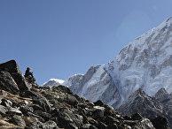 Путь к базовому лагерю Эвереста, Гималаи, Непал