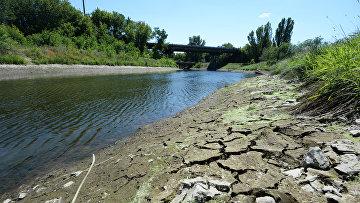 Канал «Северский Донец — Донбасс», по которому идет водоснабжение Донецкой области