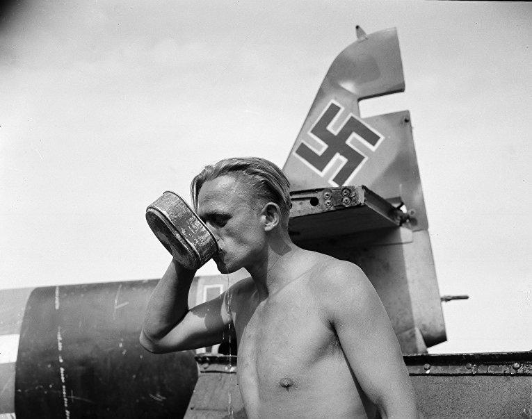 Солдат гитлеровского вермахта