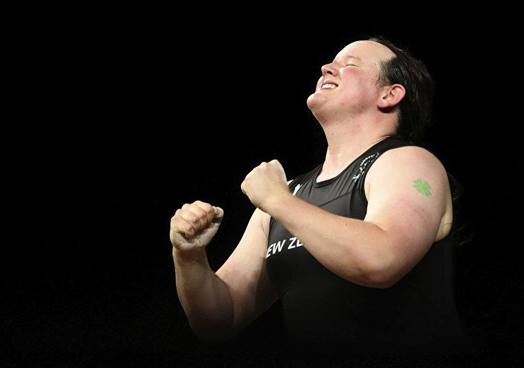 Тяжелоатлетка-трансгендер Лорел Хаббард, Новая Зеландия