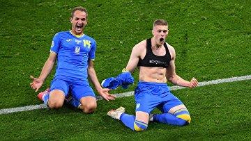 Сборная Украины вышла в четвертьфинал Евро-2020, обыграв Швецию