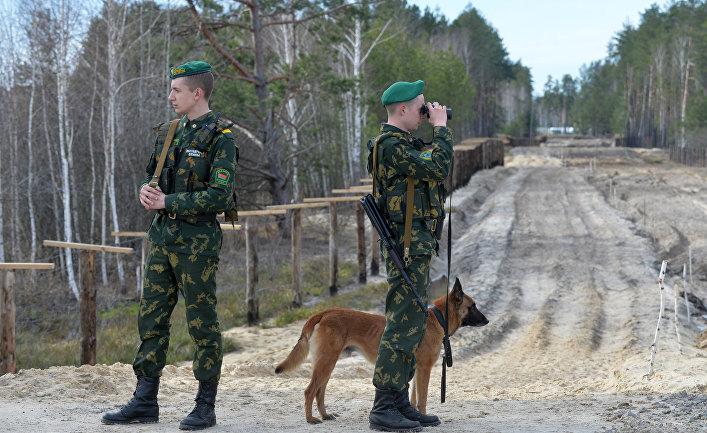 Белорусско-украинская граница