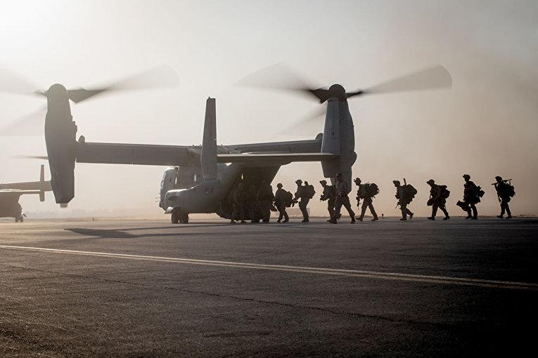 Американские солдаты в Сирии