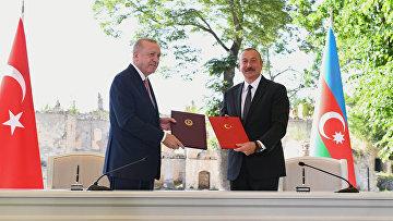 Визит президента Турции Р. Эрдогана вАзербайджан