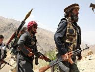 Вооруженные люди в районе Горбанд, провинция Парван, Афганистан