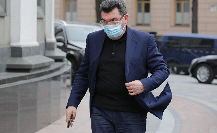 Секретарь совета национальной безопасности и обороны Украины Алексей Данилов