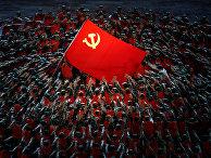 Празднование 100-летия со дня основания Коммунистической партии Китая в Пекине