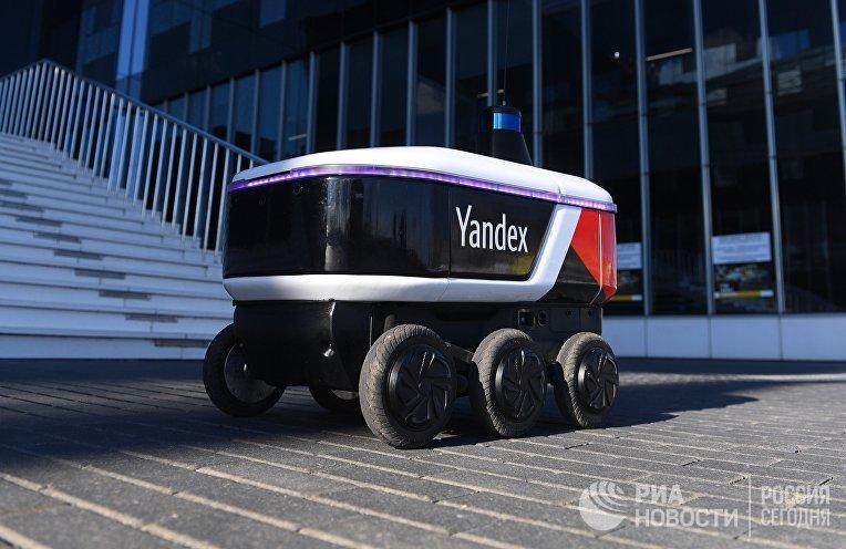 "Робот-курьер ""Яндекса"" начал работать на территории ""Сколково"""