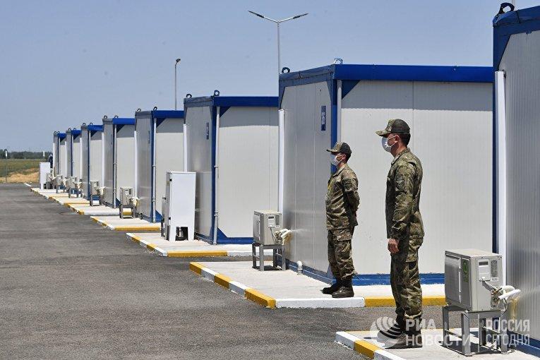 Совместный российско-турецкий мониторинговый центр в Агдаме