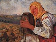 Зинаида Серебрякова, Крестьянка с квасником