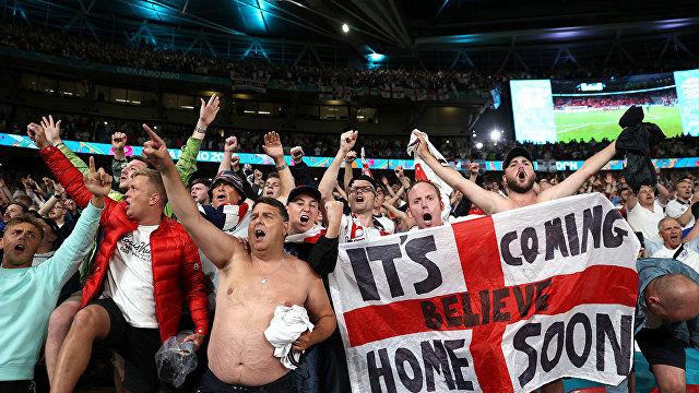 Daily Mail (Великобритания): англичане в экстазе! Команда в финале Чемпионата Европы по футболу впервые за 55 лет!