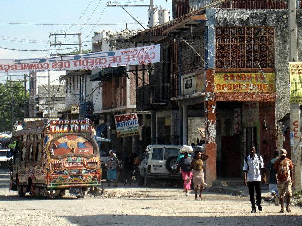 Столица Гаити Порт-о-Пренс