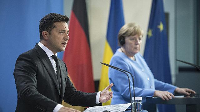 Главред (Украина): Меркель привезет на Украину ультиматумы от Путина