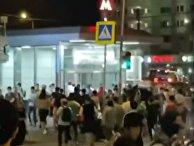 В Москве произошла массовая драка мигрантов