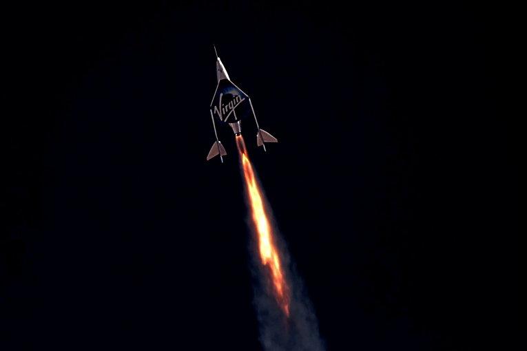 Пассажирский ракетный самолет Virgin Galactic VSS Unity