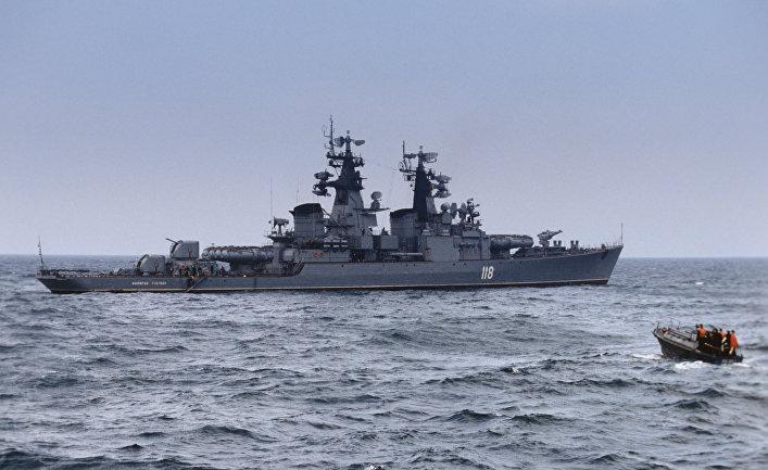 """Ракетный крейсер """"Адмирал Головко"""""""