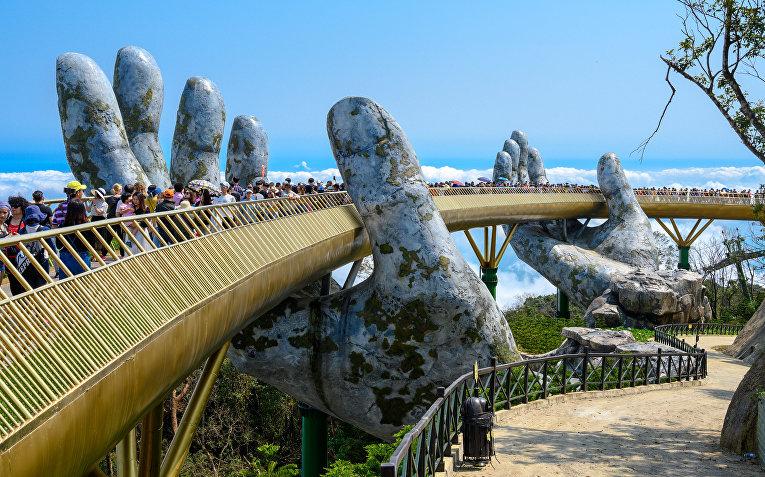 Золотой мост, Дананг, Вьетнам
