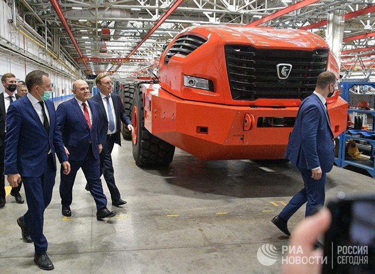 Рабочая поездка премьер-министра РФ М. Мишустина в Приволжский федеральный округ
