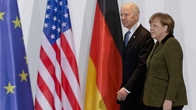 Вести (Украина): Северный поток  2, Украина и санкции  итоги встречи Байдена и Меркель