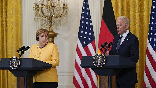 The Times (Великобритания): мы не можем позволить России перерезать жизненно важную артерию Украины, сказал Байден Меркель