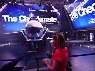 Презентация нового военного самолета Checkmate