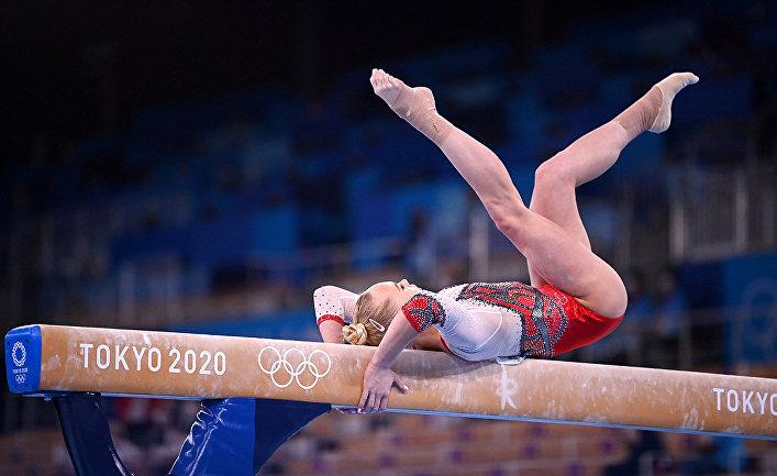 Олимпийские игры в Токио 2020 года. Художественная гимнастика. Ангелина Мельникова