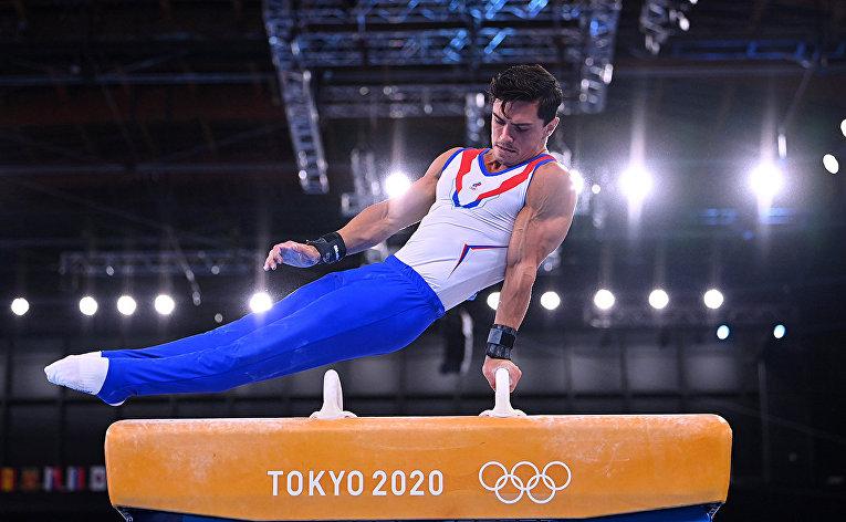 Российский спортсмен, член сборной России (команда ОКР) Артур Далалоян