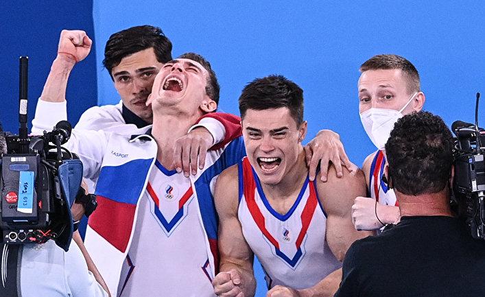 Олимпиада-2020. Спортивная гимнастика. Мужчины. Командное многоборье