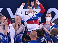 Олимпиада-2020. Спортивная гимнастика. Женщины. Командное многоборье