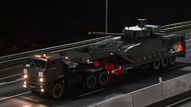 The National Interest (США): Т-14  крутой российский танк, но у Путина их немного