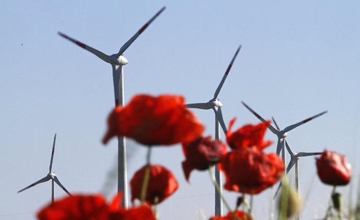Ветровые электростанции в Германии