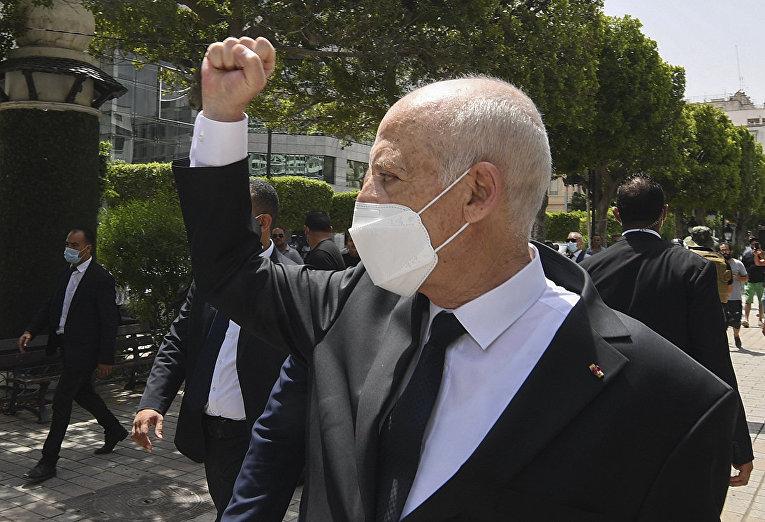 Президент Туниса Кайс Саид