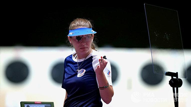 Виталина Бацарашкина на Олимпиаде в Токио