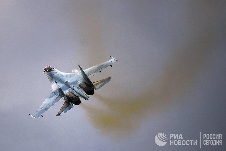 Самолет Су-35С