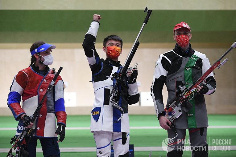 Олимпиада-2020. Стрельба. Мужчины. Винтовка. Три положения