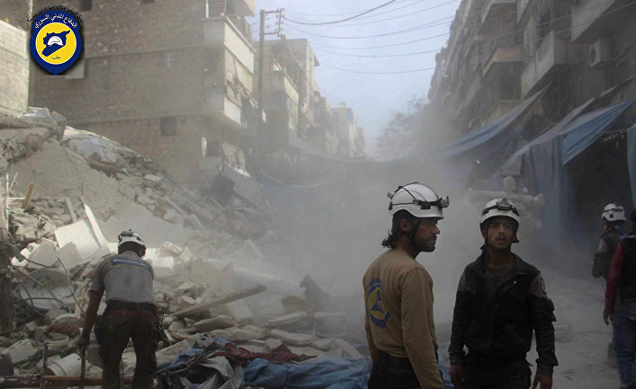 «Белые каски» в Алеппо