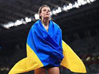 Украинская прыгунья в высоту Ярослава Магучих на ОИ в Токио