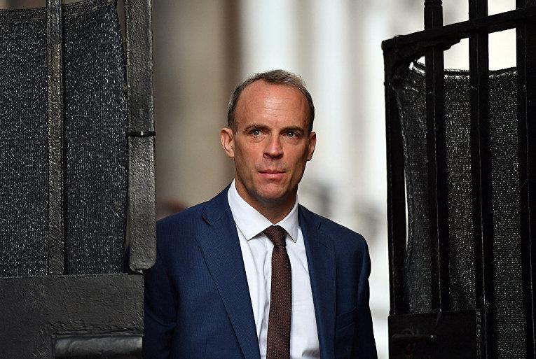 Министр иностранных дел Великобритании Доминик Рааб