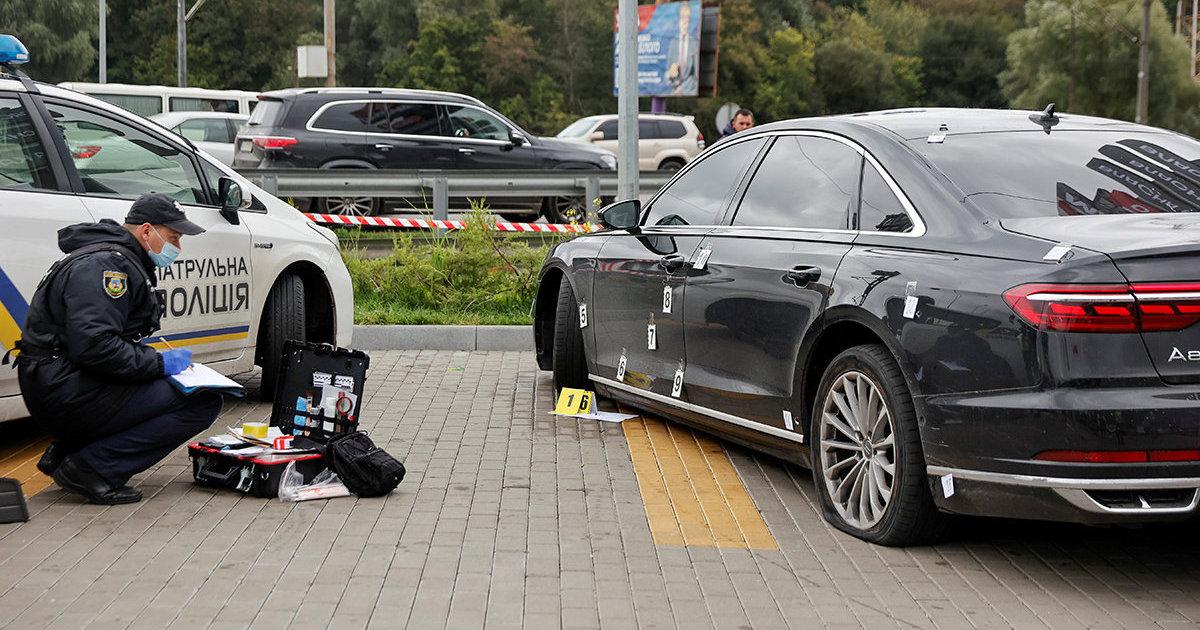 Обозреватель (Украина): на советника Зеленского совершено покушение, ранен водитель (Обозреватель)